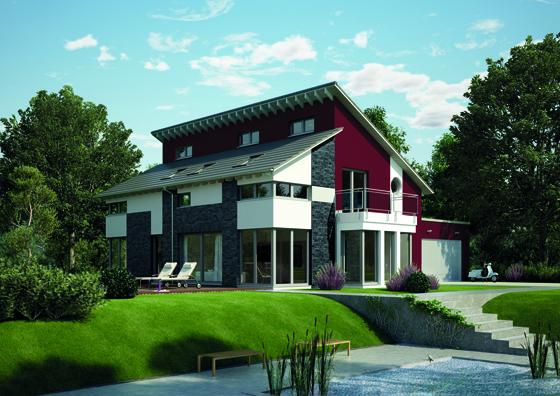 Das neue OKAL Musterhaus in Kaarst ist bereits ein Effizienzhaus 55