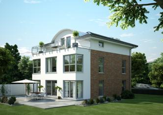 Der in Kürze als OKAL Musterhaus in Mühlheim-Kärlich zur Besichtigung freigegebene Stadtvillen-Entwurf FZ 116-92 V6 bietet nicht nur großzügiges Wohnen und eine edle Gestaltung mit modernster Technik - er ist auch das erste Haus in Deutschland, dass das DGNB Zertifikat in Silber für Nachhaltigkeit erhalten hat.